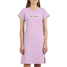 Team Spears Women's Pink Nightshirt