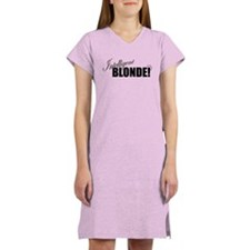 Cute Intelligent funny Women's Nightshirt