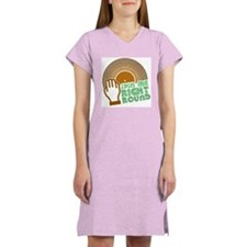 Spin Me Right Round Women's Nightshirt