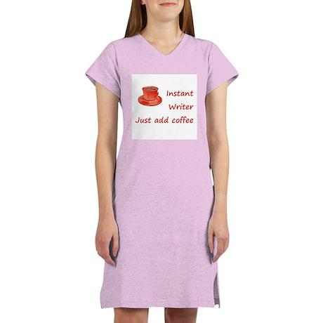 Instant Writer Women's Nightshirt
