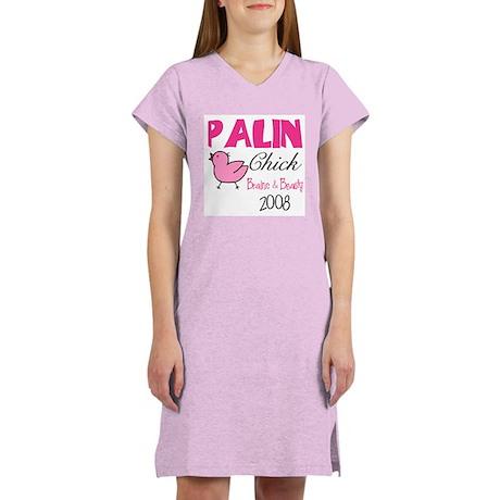 Palin Chick 2008 Women's Nightshirt