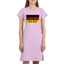 German Girls Rock Women's Nightshirt