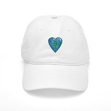 3D Heart Baseball Cap