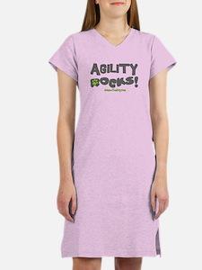 Agility Rocks! Women's Nightshirt