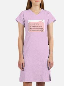Bio and Adopted Women's Nightshirt