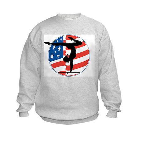 American Gymnast Kids Sweatshirt