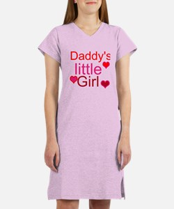 Cute Daddys little girl Women's Nightshirt