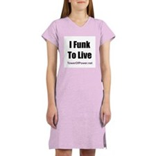 2-message: Women's Nightshirt