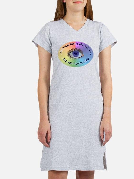 ...Psychic Eye... Women's Nightshirt