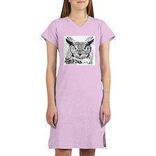 Horned Owl Women's Nightshirt