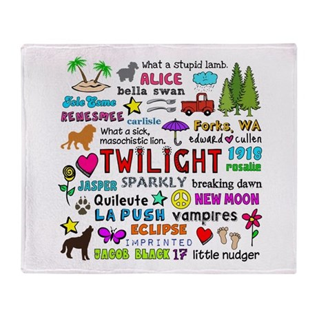 Twilight V3 Throw Blanket