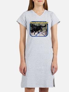 Success Dog Art Women's Nightshirt