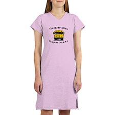 Transportation Department Women's Nightshirt