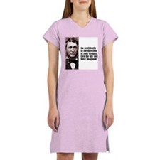 "Thoreau ""Go Confidently"" Women's Nightshirt"