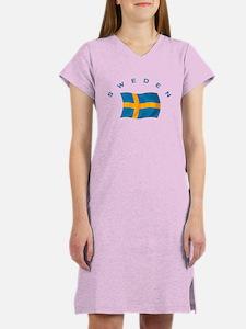Flag of Sweden Women's Nightshirt