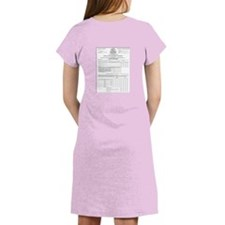 Cute Tax returns Women's Nightshirt