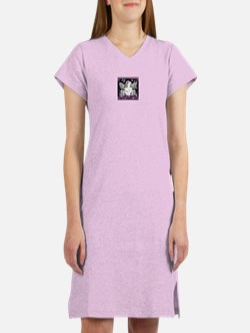 Cute Domestic violence sexual assault awareness mon Women's Nightshirt