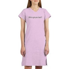 Who's got your back? Obama Women's Nightshirt
