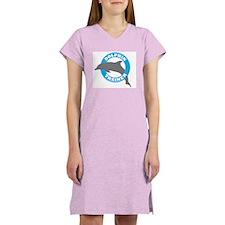 Dolphin Trainer Women's Nightshirt