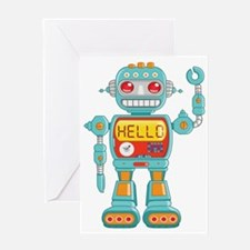 Hello Robot Greeting Card