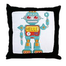 Hello Robot Throw Pillow
