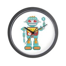 Hello Robot Wall Clock
