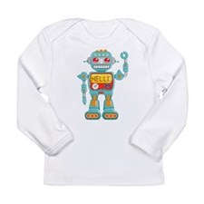 Hello Robot Long Sleeve Infant T-Shirt