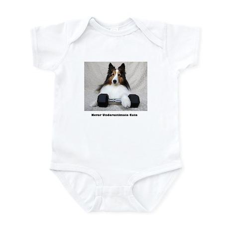 Never Underestimate Cute Infant Bodysuit