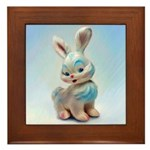 Vintage Toy Bunny Painting