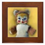 Vintage Teddy Bear Painting