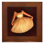 Hell Dress Framed Tile