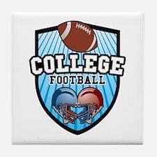 College Football Tile Coaster