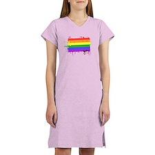 Gay Pride Women's Nightshirt