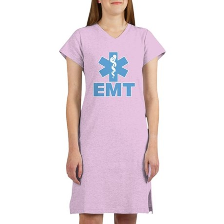 Blue EMT Women's Nightshirt