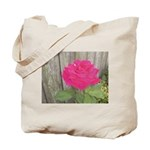 Roses Against Tote Bag