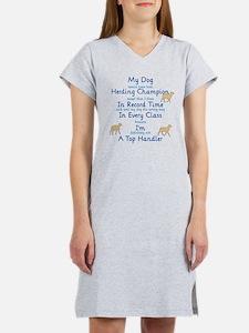 Herding Top Handler Women's Nightshirt