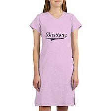 Baritone Swish Women's Nightshirt