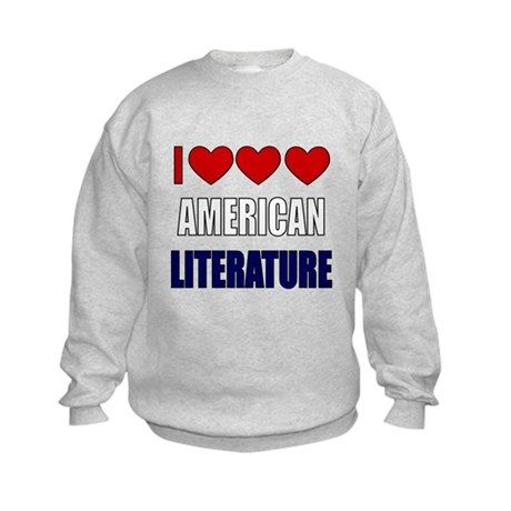 American Literature Kids Sweatshirt
