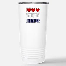 American Literature Stainless Steel Travel Mug