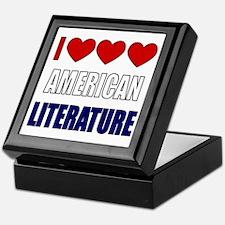 American Literature Keepsake Box