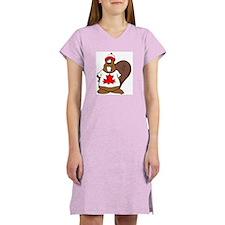 Canadian Beaver Women's Nightshirt
