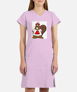 Canadian Beaver Women's Nightshirt
