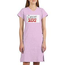 Cute Cancer sucks Women's Nightshirt