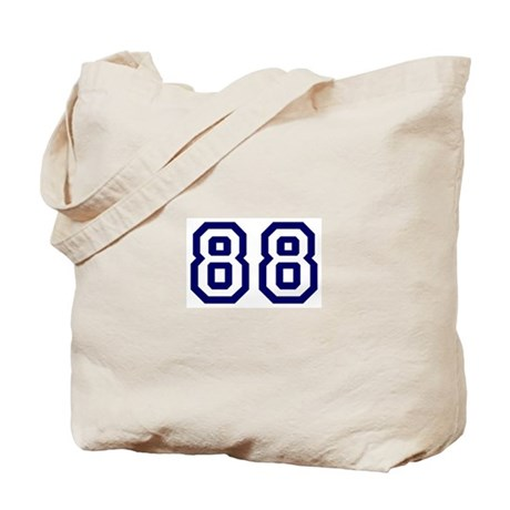 Number 88 Tote Bag