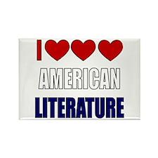 American Literature Rectangle Magnet