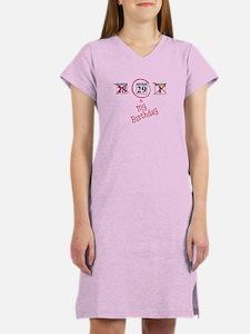 Leap Year Calendar Women's Nightshirt