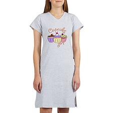 Cupcake Girl Women's Nightshirt