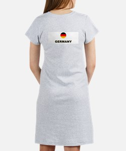 Germany World Cup Soccer Women's Pink Nightshirt