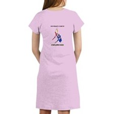 Cute Peace corps Women's Nightshirt