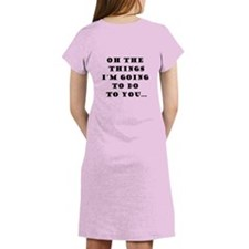 Funny Welcome home navy fiancee Women's Nightshirt